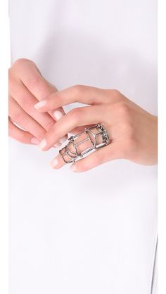 Eddie Borgo Hinged Ratchet Ring