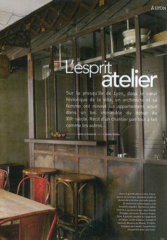 Verrière cuisine - Art & Déco