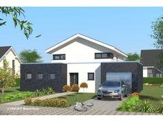 Massivhaus modern satteldach  Independent 158 - #Einfamilienhaus von STIMMO Hausbau GmbH ...
