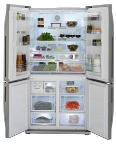 Let's be honest, most of us would love a huge American-style fridge freezer in our kitchen. However, the issue of budget is often a major stumbling block and the dream remains just that – a dream.    Enter Beko and its new side-by-side, four door fridge freezer. It's so spacious you could swing a cat inside (but it's not advisable!)