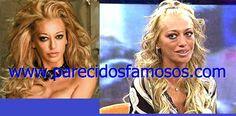 Parecidos con famosos: Belén Esteban una vez mas antes y después