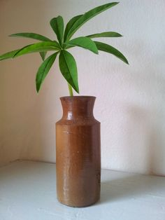 Antique Salt Glazed Stoneware Large Ink Bottle by KittyBee9