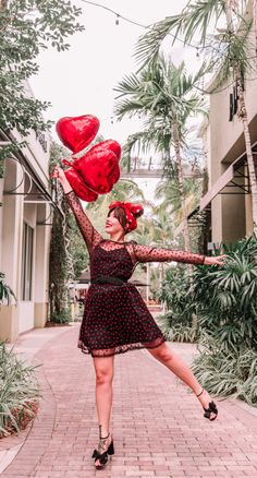 It doesn't need to be Valentine's Day for me to dress in red and heart prints. This Modcloth dazzle do it heart dress is available in plus size! Head Scarf Tutorial, Heart Dress, Heart Print, Overall, Dress Outfits, Strapless Dress, Short Sleeve Dresses, Plus Size, How To Wear