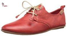 Pikolinos Calabria 917, Chaussures de ville femme, Rouge (Carmin), 39 - Chaussures pikolinos (*Partner-Link)