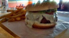 New York Blue Cheese Burger