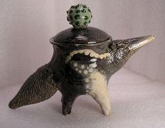 Giant Anteater Folk Pot – Animal Face Jug – Spice Jar – Effigy Jar | eBay