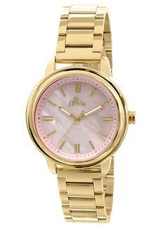 d32c92714d9 Relógio Allora Feminino Analógico Dourado AL2035EZY4Q