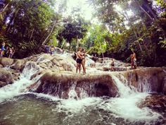 Dunn's River Falls. Ocho Rios, Jamaica.