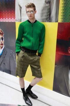 Jonathan Saunders Spring Summer Menswear 2013 London
