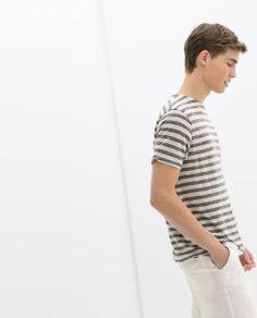 Image 1 de PULL RAYURES de Zara