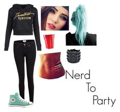 """""""Nerd to Party"""" by fivesos-is-bae ❤ liked on Polyvore"""