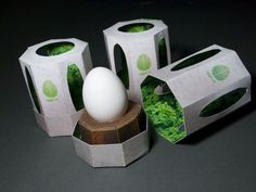 Nested Seedling Packaging - Eggrow by Kevin Craft Contains Lush Life within a Ceramic Shell (GALLERY) Period Package, Egg Packaging, Packaging Ideas, Design Packaging, Egg Drop, Egg Designs, Packaging Design Inspiration, The Body Shop, Portfolio Design