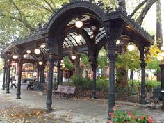 Pioneer Square Pergola - Pioneer Square. Seattle, Washington - USA.