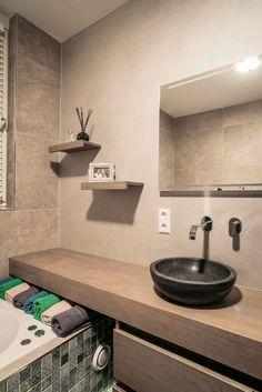 Rustieke badkamer met Natural Clay   Creative Minds International