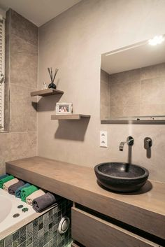 Rustieke badkamer met Natural Clay | Creative Minds International