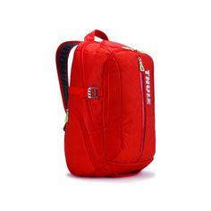 25 Litre Laptop Backpack Orange & Red