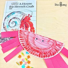 We made this suuuupppeerrr easy paper plate crab and read ' A House for Hermit Crab'. There are also read a louds on YouTube if you don't have the book 🦀The Summer Fun resource ( which already has ideas for extensions, books, articles, etc ) and this extension activity are plans for the end of the year and it has been a hit.