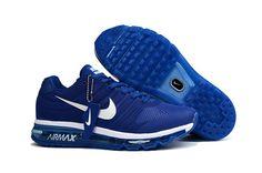 Nike Air Max 2017 Men Blue White KPU Shoes