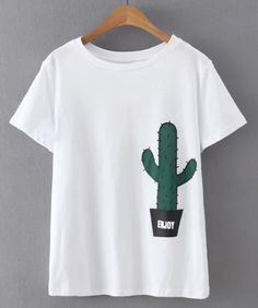cute cactus tee