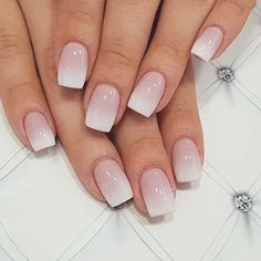 Square Nail Designs, Ombre Nail Designs, Acrylic Nail Designs, Ombre Nail Colors, Blue Nail, Pink Nails, Stars Nails, Coffin Nails Ombre, Nagel Bling