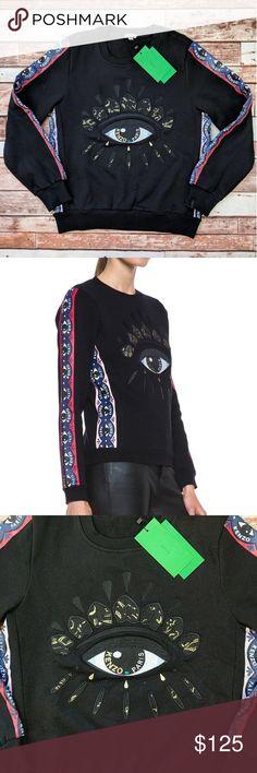 🆕 NWT Kenzo Sweatshirt Brand New With Tags Kenzo Sweatshirt Size Small. No Flaws. Fleece Lined. Make An Offer! Kenzo Tops Sweatshirts & Hoodies