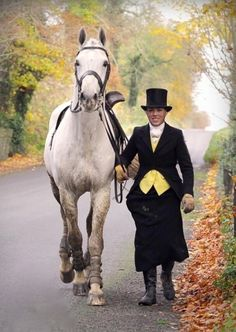 Susan Oakes at The Meath Side saddle Hunt Meet