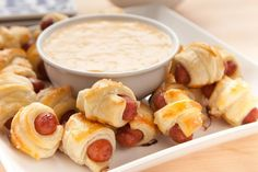 Two classics: Pigs in a Blanket and Cheese Fondue. Put them together, and it's a WOW moment. Making the fondue with beer gives it something extra exciting. Read More