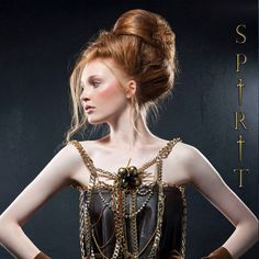 FW14 Spirit collection by gino hairandmore INSPIRATION: Medieval, Byzantine, Jeanne d'Arc hairstyles Massive updo