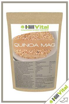 A quinoa magas tápértékű sok fehérjét tartalmazó, könnyen emészthető, gluténmentes, lúgosító hatású, minden esszenciális aminosavat tartalmazó superfood. Vegetáriánusoknak, vegánoknak az állati fehérje alternatívájaként ajánlott. Lassan lebomló szénhidrátforrás, magas rosttartalommal, így cukorbetegek és fogyókúrázók számára is javasolható.   KISZERELÉS: 500g Quinoa, Minden