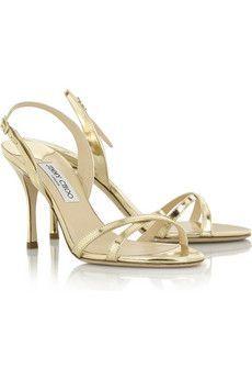 96c6d3408a6da Jimmy Choo - India mirrored-leather sandals