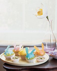 Crepe Paper Easter Creations