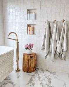 Shop Our Online Tile Store - Glass, Ceramic & Wall And Floor Tiles, Bathroom Floor Tiles, Master Shower Tile, Shiplap Bathroom, Bathroom Plants, Bad Inspiration, Bathroom Inspiration, Man Bathroom, Bathroom Ideas