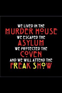 AHS- Freak Show, Oct. 23, 2014