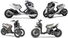 Yamaha's showing of two vastly different directions for its three-wheeled architecture is an indication we'll see ...