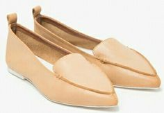 Jeffery Campbell vionette loafers in natural
