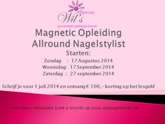 Magnetic allround opleiding Nagelstylist!!!