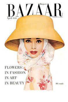 1956 Audrey Hepburn - HarpersBAZAAR.com