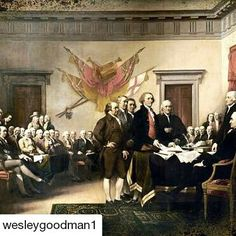 #Repost @wesleygoodman1 with @repostapp  Almost every country has a national day marked by nationalism and celebration. A celebration remarkable merely for the fact of celebrating where you happened to be born and live.  America is different.  Unique in human history our Independence Day celebrates not just a nation but a Founding and a set of ideas and principles contained in that Founding.  We do not just celebrate a place or a people. We celebrate that on July 4 1776 240 years ago today…