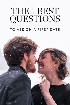 We've got you covered with 4 revealing questions (that aren't too obvious) to ask on a first date. dating First Date Questions, First Date Tips, First Date Outfits, Fun Questions To Ask, Dating Questions, First Dates, This Or That Questions, First Date Outfit Casual, First Date Hair