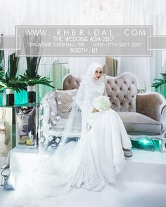 """""""Greetings 🌸🌸 @rh_bridalstudios will be involved in the coming """" The Wedding Asia 2017"""" expo .  Singapore Expo Hall 5B 14-17 sept (today - sun ) 10am - 10pm Booth K1 ( near the entrance on the right side )  Do drop by and say hi 👋🏽 ( venue decoration fr $3600 for mph/ void deck and fr $4500 for cc/halls 😘🌸🌸 Throwing in superb bundle deals for bridal packages when u sign up our decoration packages - )  www.rhbridal.com Email us at rhbridal@gmail.com or call us at 6743 8173…"""