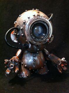 Steampunk Robots, Steampunk Crafts, Steampunk Design, Vintage Robots, Retro Robot, Steam Punk, Sculpture Metal, Arte Robot, Modelos 3d