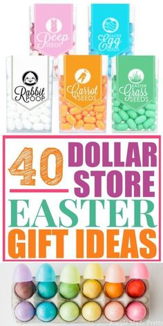 Fun and cheap easter gifts 101 easter basket ideas for kids cheap 40 diy dollar store easter gift ideas negle Images