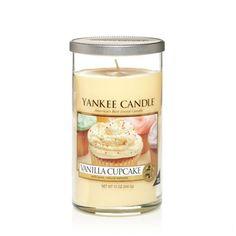 Vanilla Cupcake : Medium Perfect Pillar Candles : Yankee Candle