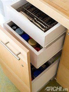 Bí quyết thiết kế gọn gàng cho gian bếp nhỏ 1