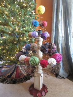Bed Spring Christmas tree (from CleverJunk on Junkmarket Style)