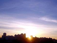 Foto de Luiz de Campos Jr -07/01/2013  sp, 6h40 [hv] - sol em 17capricórnio12... bondia, boa semana, bom 2013! (: — em Butanta, Sao Paulo.(sic)