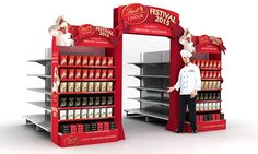 Lindt Excellence and festive POS 2015