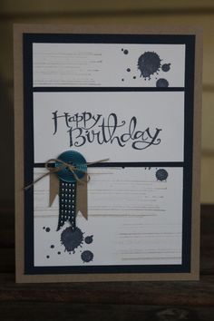 stampin up boy birthday cards - Yahoo Image Search Results