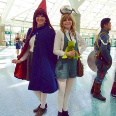 "Wirt and Greg cosplay from ""Over the Garden Wall"" at WonderCon 2016. #cosplay #wondercon2016 #wondercon #overthegardenwall #wirt #greg (at Wondercon 2016)"