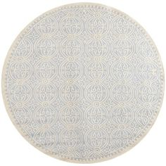 Safavieh Handmade Moroccan Cambridge Light Blue Wool Rug | Overstock.com
